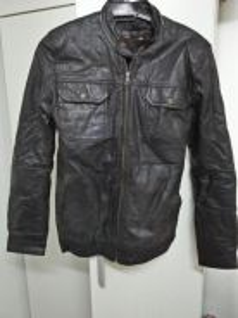 Jaket kulit Berjenama Kansas Leather Original