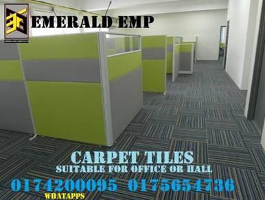 Carpet pejabat petak karpet tile mudah selenggara
