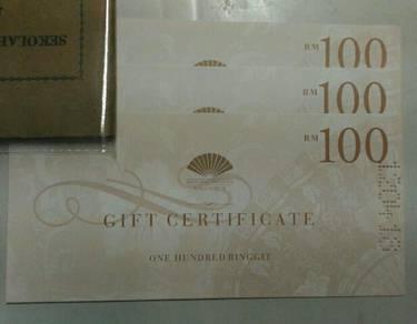 RM100 MANDARIN ORIENTAL HOTEL buffet/food cash vou