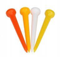 50 pcs Golf Tees 83 mm Plastic Mixed Color