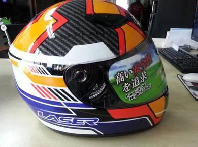 Helmet: model laser fullface