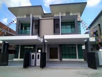 NEW Luxury 2Storey House 24x80, Putrajaya area