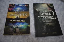 Buku novel tarbiah