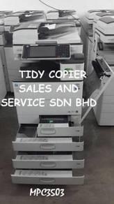 Mpc 3503 color photocopy machine