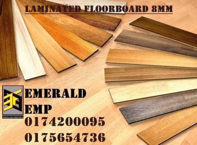 Lantai vinyl corak kayu laminated floor board