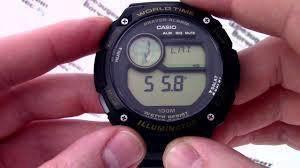 Casio prayer watch cpa-100-9av