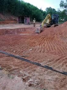 Excavator Jentolak Lori Backhoe Untuk Disewa