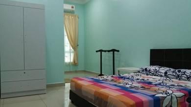Bilik aircond, Double Storey, Hijayu, Bandar Sri Sendayan