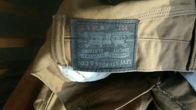 Seluar jeans silver tap