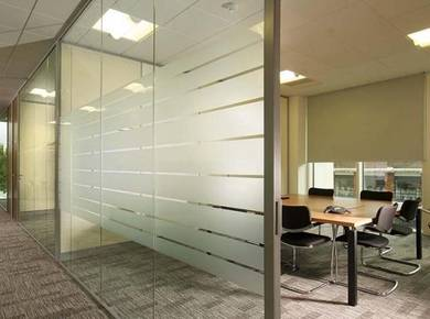 Partition Office | Suspended Ceiling * Door