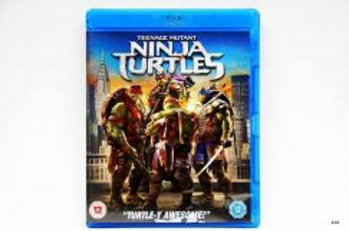 Original Bluray - NINJA TURTLES [2014] Blu-ray