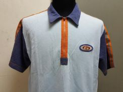 (S)GUESS Zip Up Polo Shirt - M/L