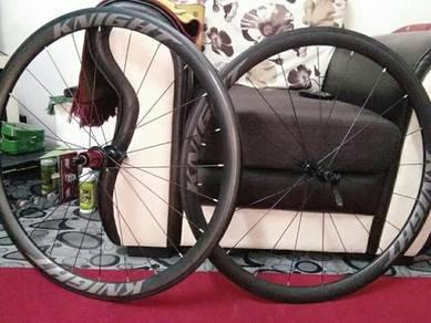 Roadbike wheelset carbon 38mm utk dijual