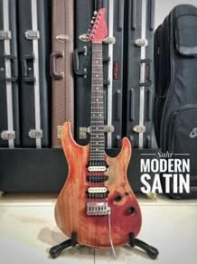 Suhr Modern Satin Cherry Red