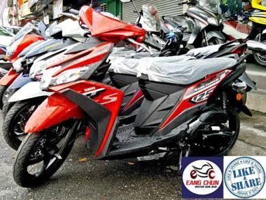 2018 Yamaha Ego Solariz Best Deal Promo 0%GST
