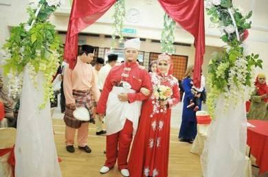 Baju sanding nikah kahwin