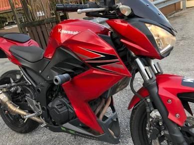 Kawasaki Z250 nak jual nego sampai jadi