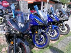 Yamaha YZF R25 Free Gift Items x 18 With Exhaust