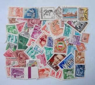 Hungary stamps mix 50 pcs
