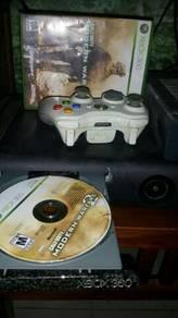 Xbox360 fat black jasper ori set.