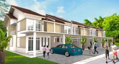 Rumah teres 2 tingkat (tumpat) non-bumi freehold