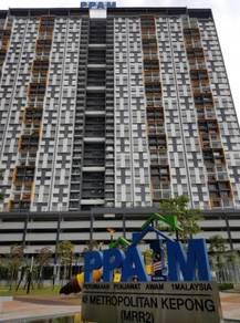 PPA1M Metropolitan Kepong MRR2 Sewa Rumah High Floor