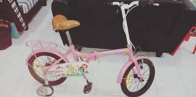 2Nd hand foldable children bike