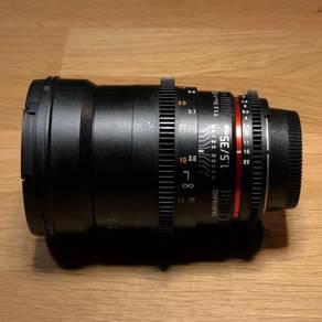 Samyang 35mm T1.5 VDSLRII Cine Lens (Nikon mount)