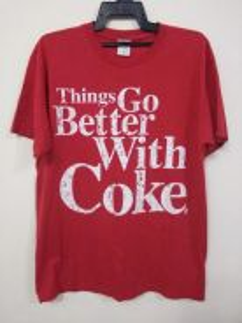 Coke Tshirt size L/XL