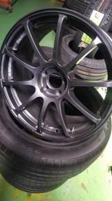 Rim Advan Racing rs 17 inch tyre 225/45/17