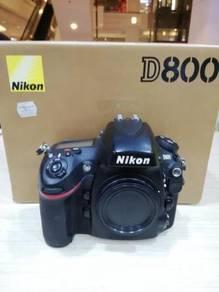 Nikon d800 body (sc 55k only) 95% new