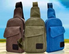 0129 Black Multifunctional Bag Chest Backpack