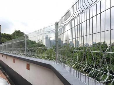 Anti climb fence / Metal fencing