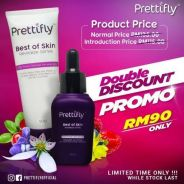 PRETTIFLY Face Serum & Cleanser