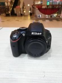 Nikon d5100 body (sc 8k only) 99% new