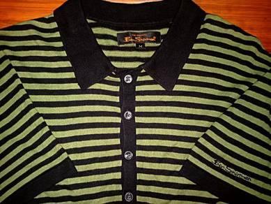 Authentic BEN SHERMAN FULL STRIPED M Ringer Shirts