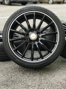 Original sports rim 18 inch merc cla250 tyr 90%