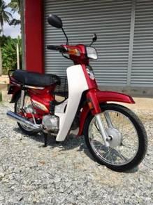 Honda ex5 4stroke merah tiptop