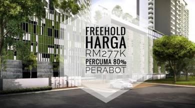 FREEHOLD Semenyih Condominium - Percuma 80% PERABOT   2 Carpark