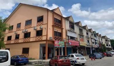 Taman Tampoi Utama Three Storey Terrace Shop House End Lot FOR SALE