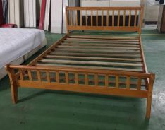 Wooden Queens Size Bed + Katil Kayu