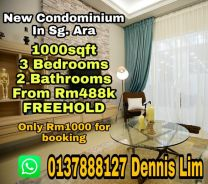 New Freehold Title Condominium in Sungai Ara Imperial Grande