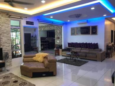 Nusa Idaman Double Storey Corner Lot