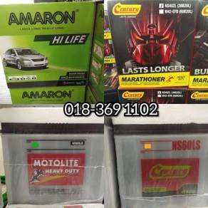 Century Motolite Car Battery Ns40l Ns60 Bateri