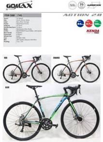 700c GOMAX ACTION Aluminium Road Bike (16 speed)