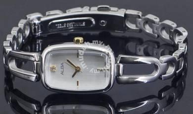 Alba Ladies Swarovski Crystal Watch 1N01-X212WGS