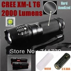 XM-L T6 LED Zoomable Flashlight I