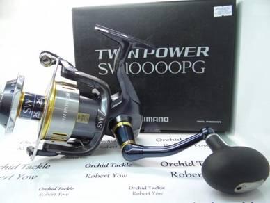 Shimano Twin Power SW10000PG fishing pancing reel