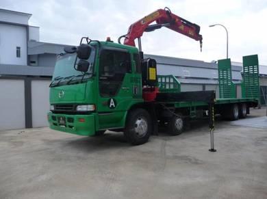 Lorry crane/loader