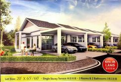 Sungai Siput,ipoh. New 1 Sty Terrace House On Sale 0% Payment